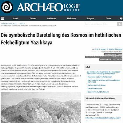 Archäologie online